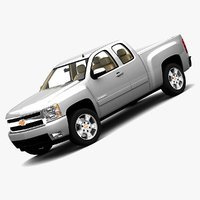 2008 chevrolet silverado extended 3d 3ds