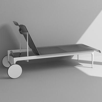 3dsmax lounge chair