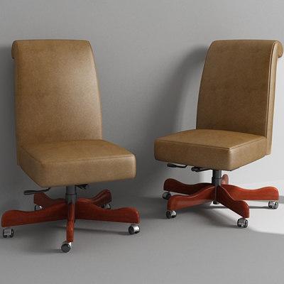 desk chair 3d max