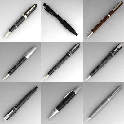 3ds 9 pens