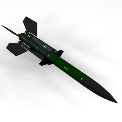 3d bristol bloodhound missile