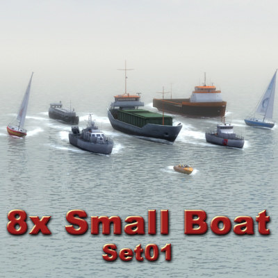 boats cargo ship 3d 3ds