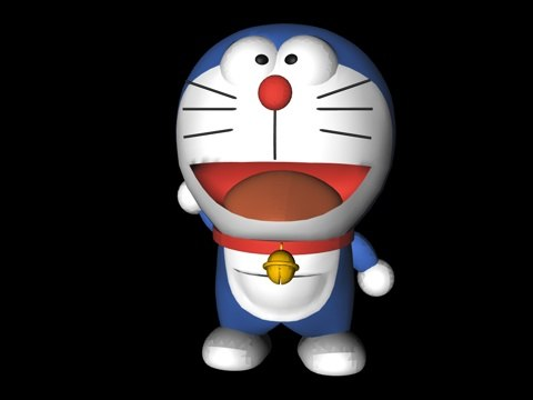 cinema4d doraemon