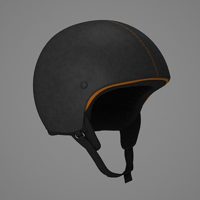 hugo boss helmet 3d model
