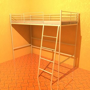 3d model of bed mattress
