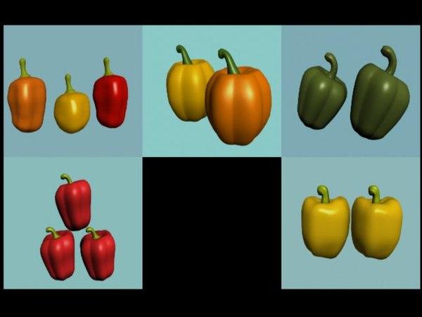 max pepper vegetable