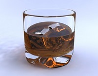 whiskey 3d max