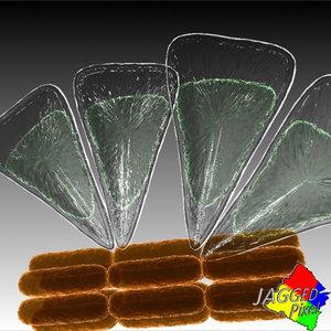 diatom cells 3d model