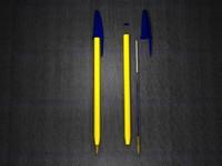 bic pen 3d model