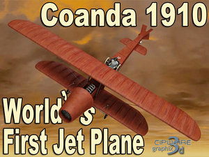 jet 1910 coanda 3d model