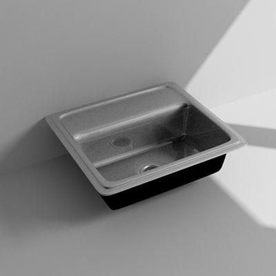 3ds max kitchen sink