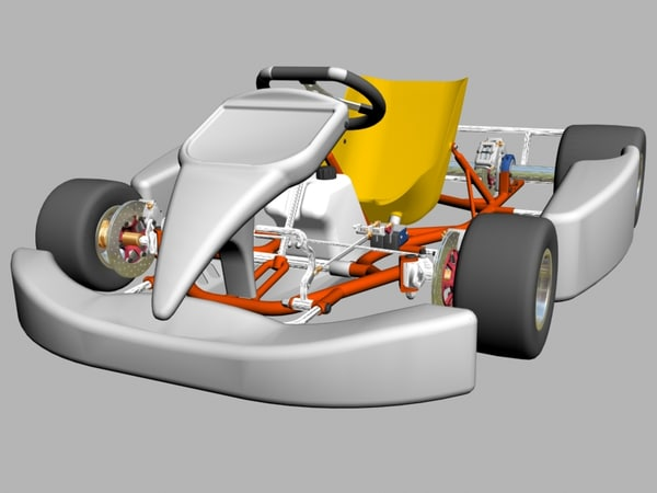 shifter kart 3d model