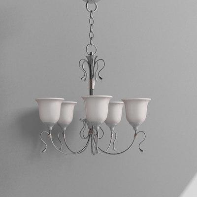 3d chandelier lamp
