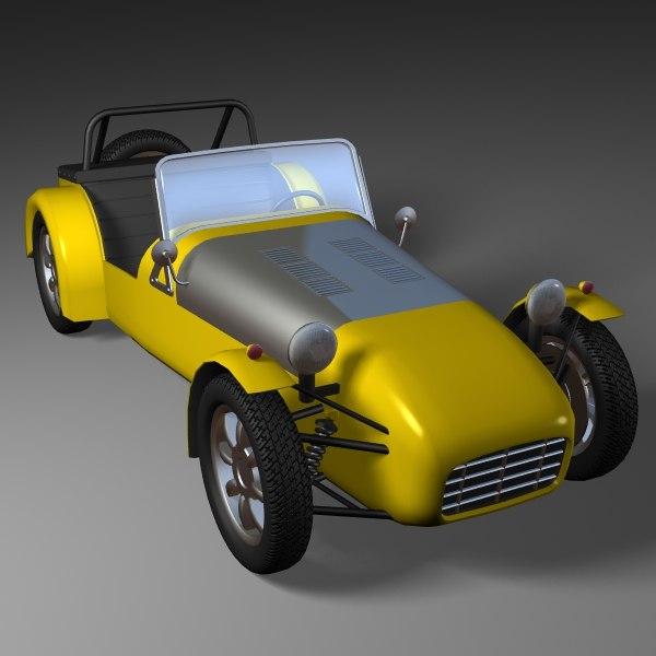 lwo racing car