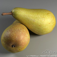 pear v-ray 3d 3ds