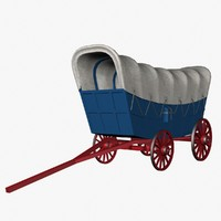 3ds conestoga wagon