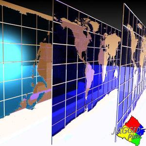 earth maps 3d model