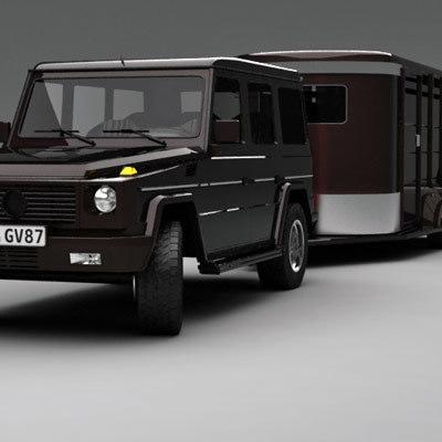 g klas horse 3d model