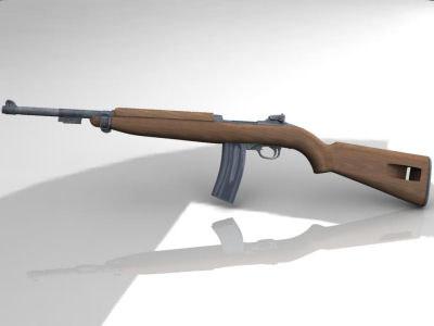3D Other US M1 Carbine