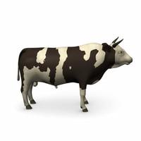 bull 3d model