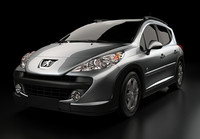 cinema4d peugeot 207 sw outdoor