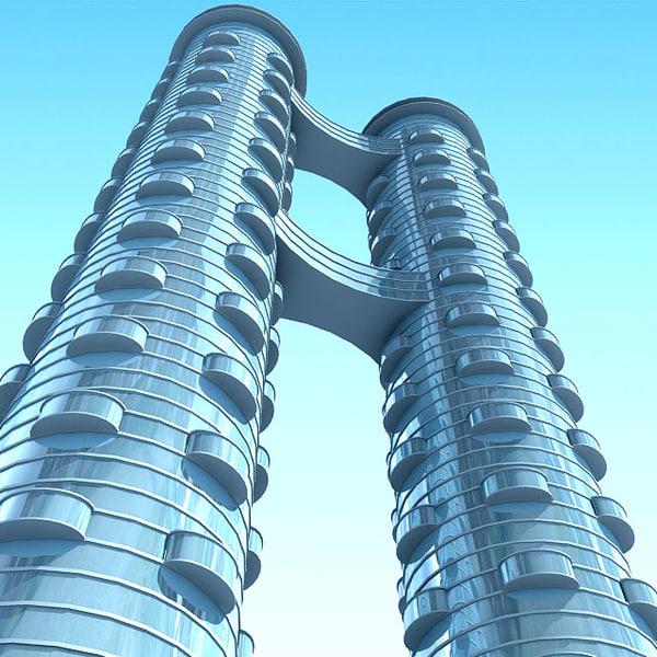 3D Building 73