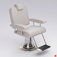 Chair barber004.ZIP