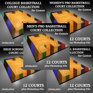 Basketball Court Collection