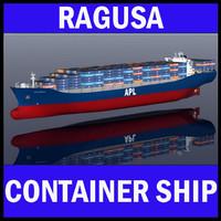 APL Australia mega Container Ship