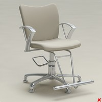 Chair barber005.ZIP