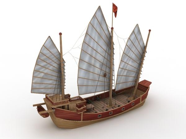 Fun Park Pirate Ship Slide - High Quality 3d model