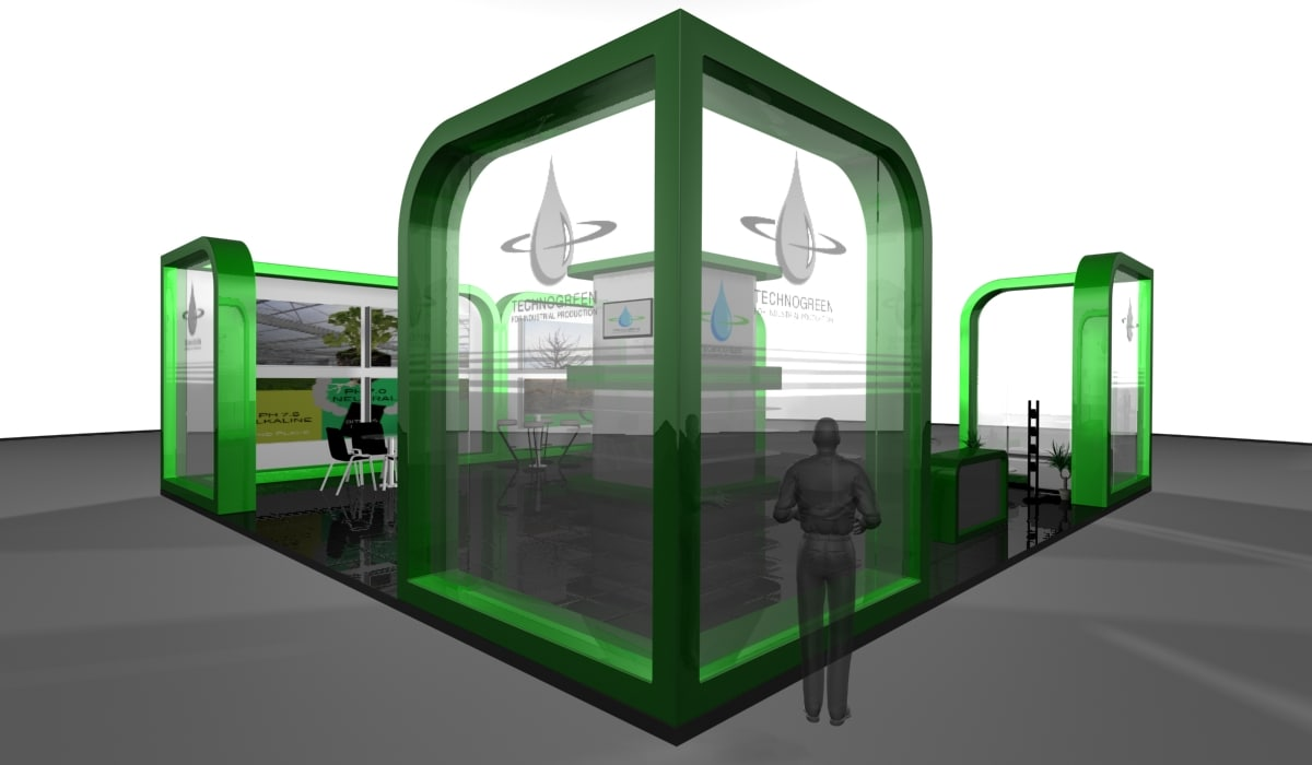 3d model agriculture exhibition stand