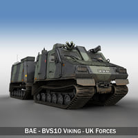 BAE BVS10 Viking - UK Forces