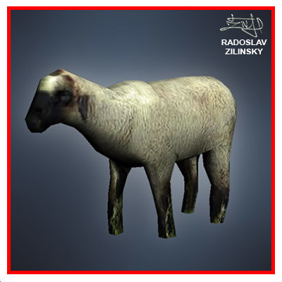 SHEEP lowpoly