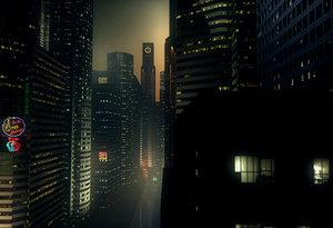 cinema4d dark street