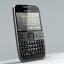 Nokia e72 3D models