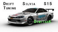drift tuning s15 3d model