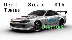 drift tuning s15 3d model