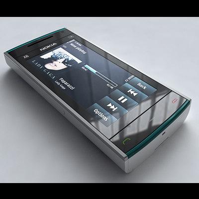 3d model nokia x6