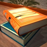 book 3d model