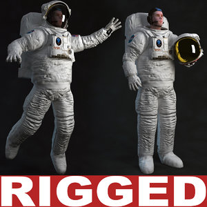 Astronaut Rigged
