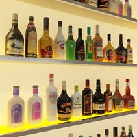 20 Liquor Bottles - Liqueur
