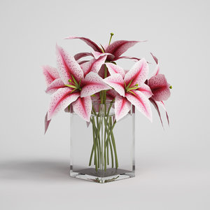 CGAxis flower 03