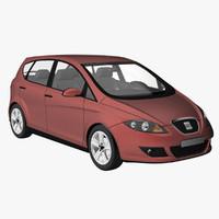 seat altea 3d model