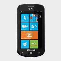 3d samsung focus mobile phone