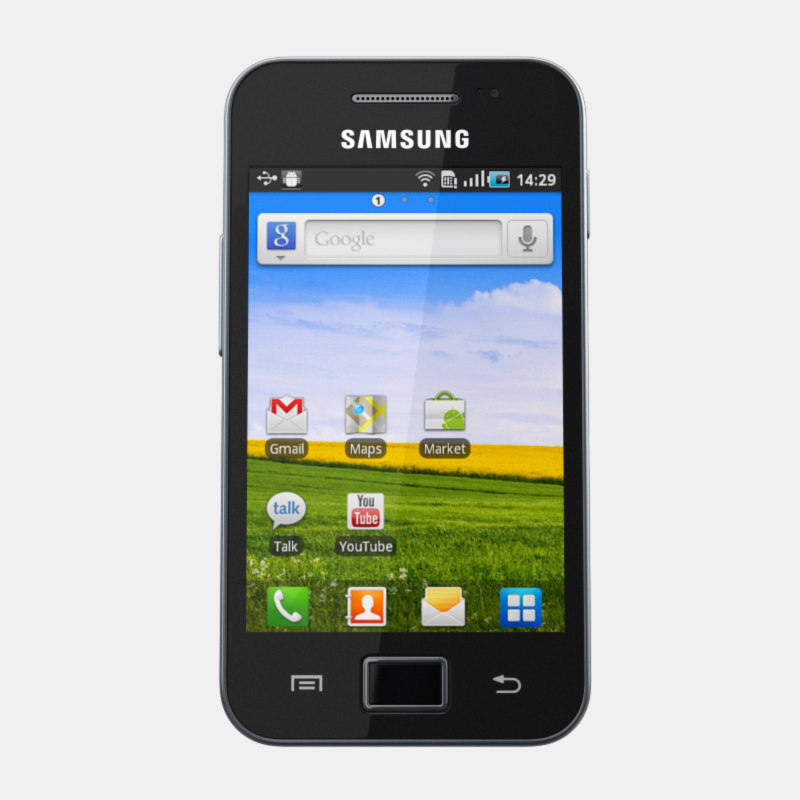 3d model samsung galaxy ace s5830