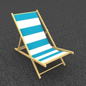 Pelican Beach Chair - Cyan