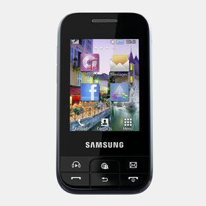 3d model of samsung chat 350