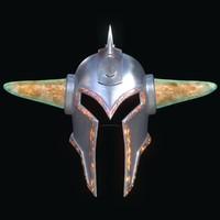 3d helmet helm model