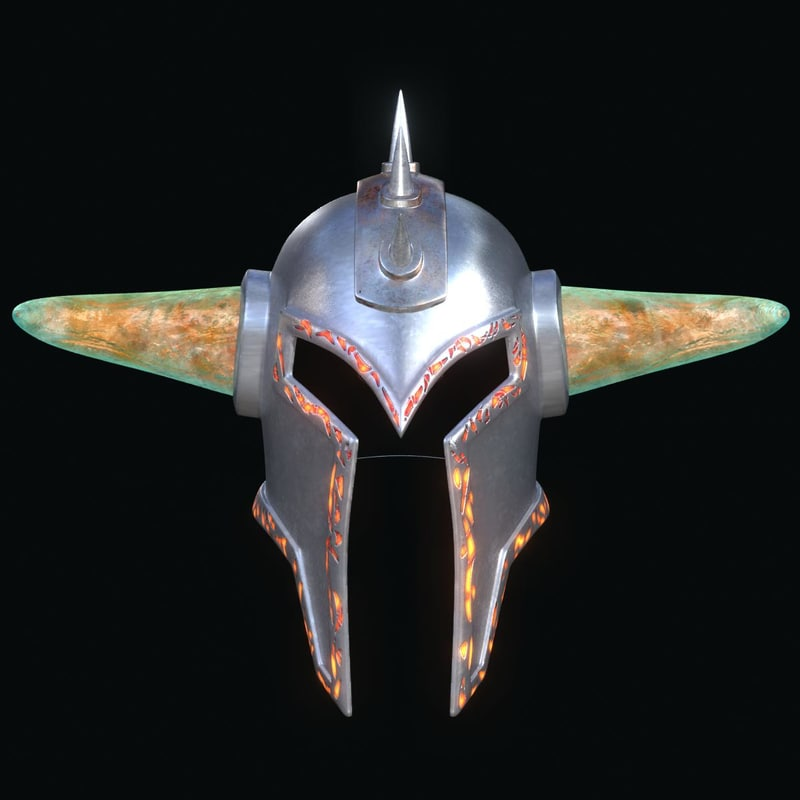 3d helmet helm model